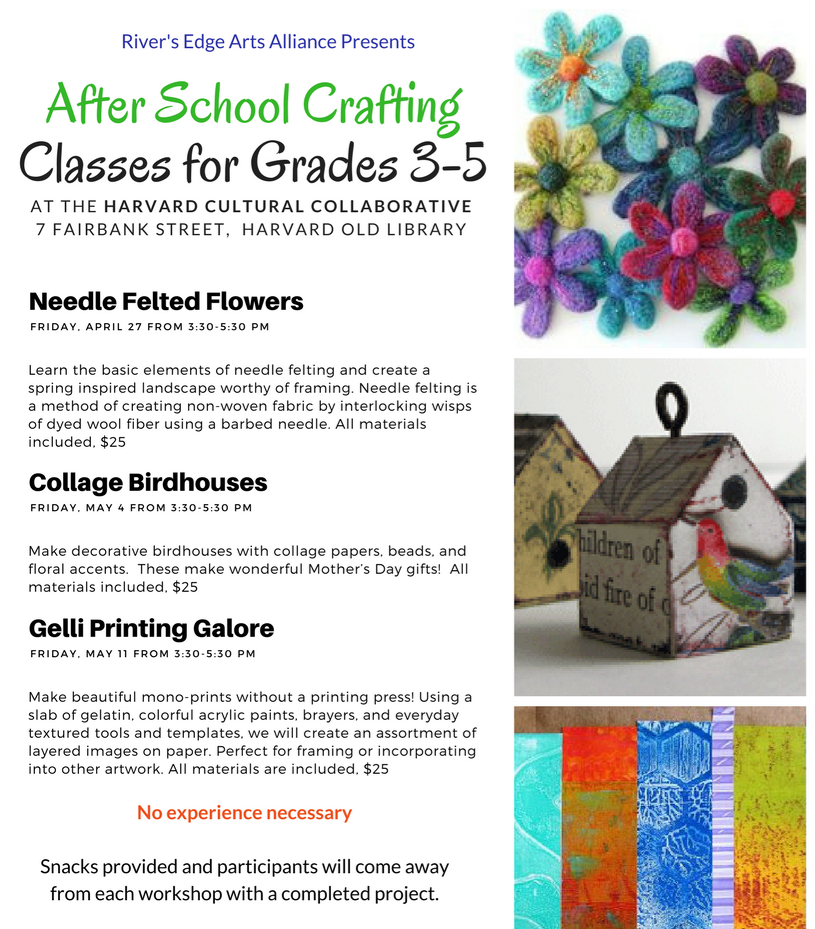 After School Crafting – Needle Felting for Grades 3 – 5 - Harvard ...